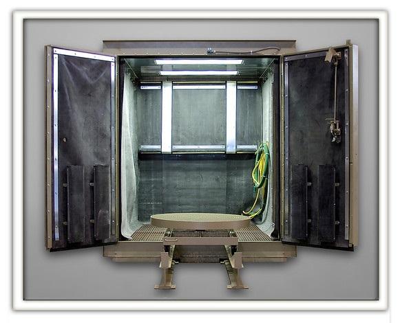 Industrial Blast Room