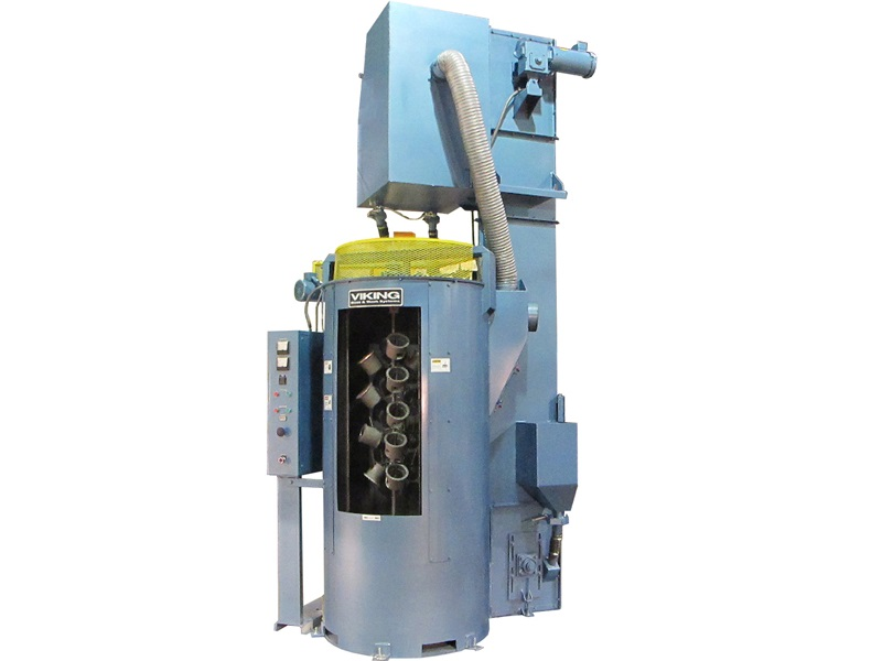 Indexing Spinner Blasting Machine