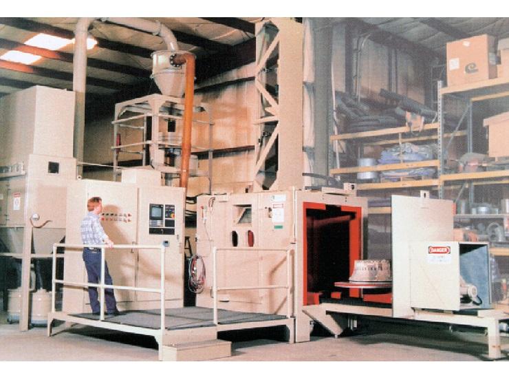 CNC Shot Peening Machine