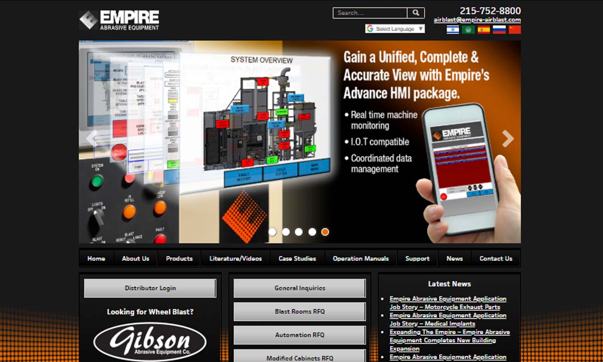 Empire Abrasive Equipment Company