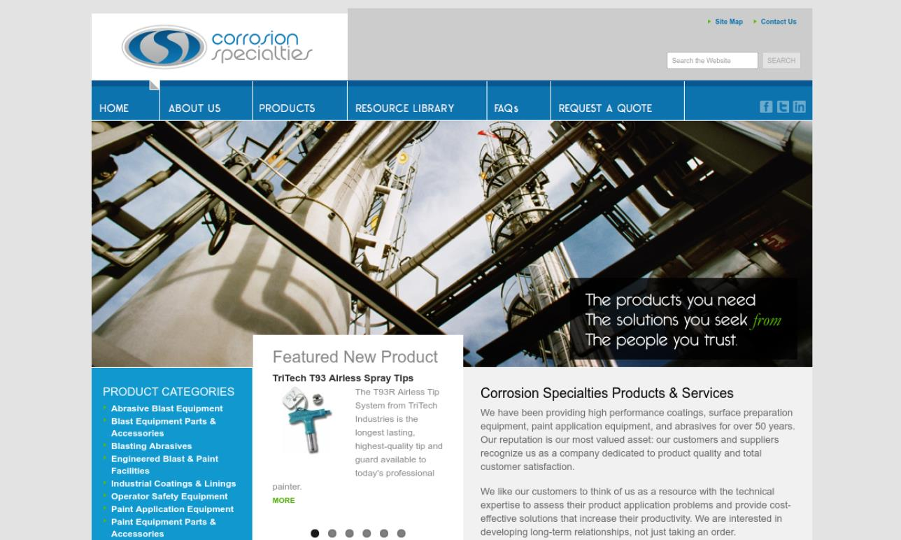 Corrosion Specialties Inc.